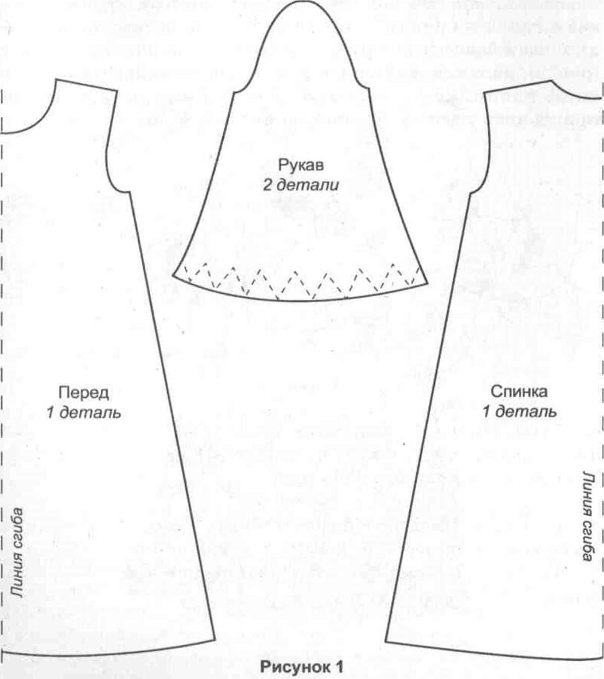 Шьем крестильную рубашку с кружевными вставками Ярмарка Мастеров 95